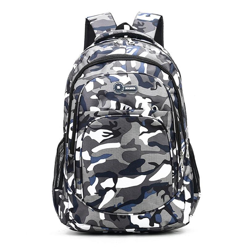 Puimentiua 2 Sizes Girls Boys Children Backpack Kids Book Bag Camouflage Waterproof School Bags Mochila Escolar Schoolbag