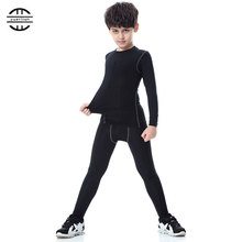 Yuerlian New Children Compression Wicking Sport Suit Fitness Tight Tracksuit Long T-shirt Leggings Pant Gym Kids Running Set yd new compression tight basket soccer tracksuit men training fitness long sleeve shirt pants male gym running set sport suit