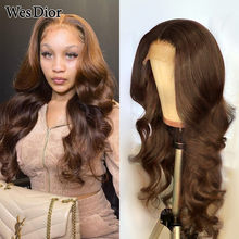 Brazilian Body Wave Lace Front Human Hair Wigs For Women Colored 4x4 Lace Wig Preplucked 13x4 Human Hair Wig With Baby Hair Remy