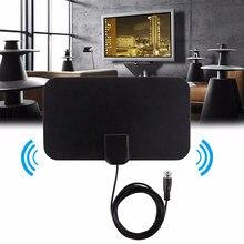 Antenne intérieure récepteur amplifié antenne HD canaux gratuits coupe câble TV en direct OTA Wave antenne HDTV numérique