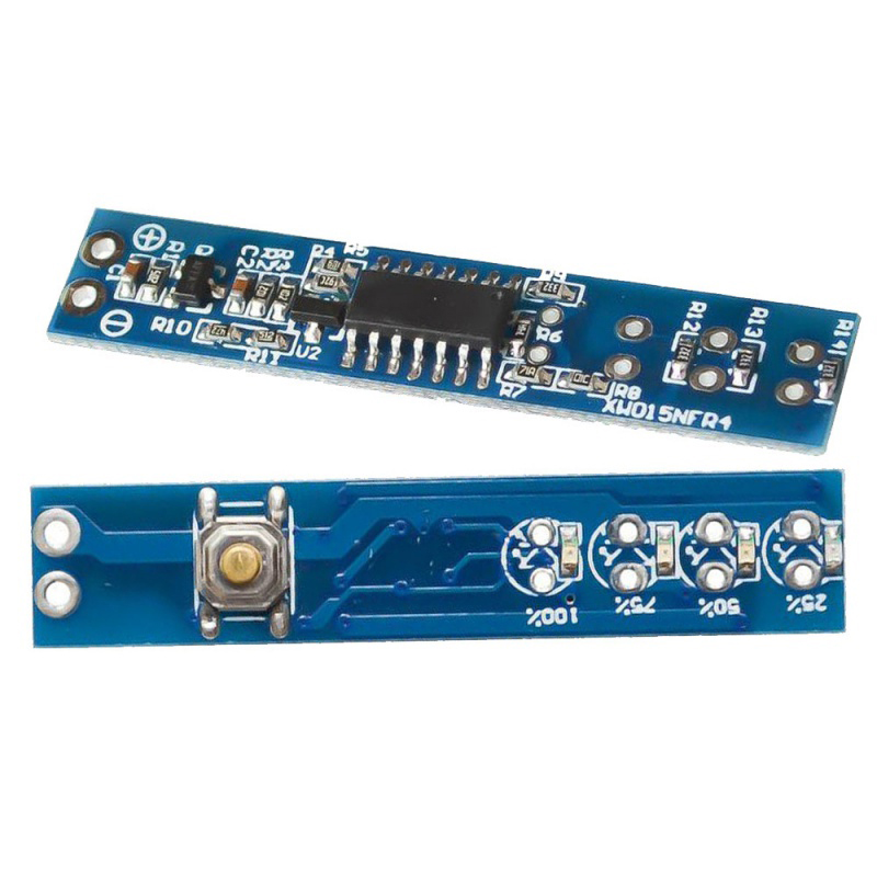 1S 2S <font><b>3S</b></font> 4S Single 3.7V 18650 Lithium Battery Capacity Indicator Module Percent Power Level Tester LED display <font><b>board</b></font> image