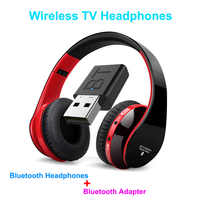 Multifunction stereo Wireless Headset Headphones with Microphone FM Radio for MP3 PC TV Audio Phones PK Bingle B616