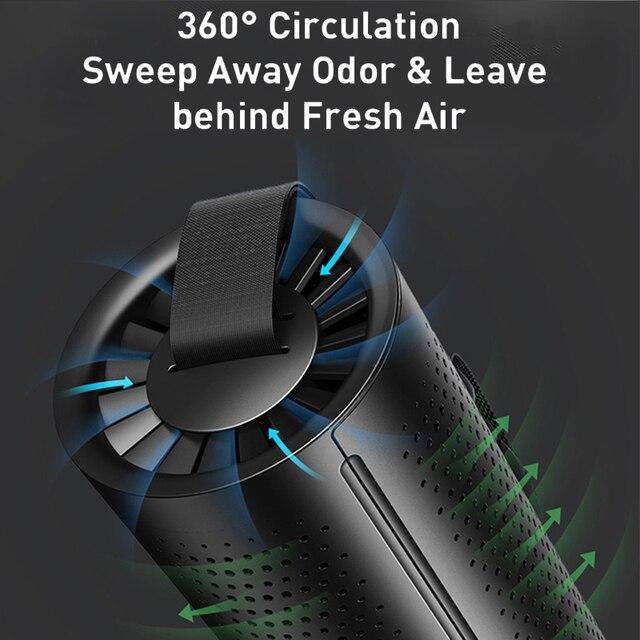 Samochód oczyszczacz powietrza jonizator jonów ujemnych powietrza Freshe węgiel aktywny kryształ oczyszczający Auto filtr powietrza odświeżacz eliminator zapachu