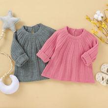 Свитер для маленьких девочек; Сезон осень зима; Теплая одежда;