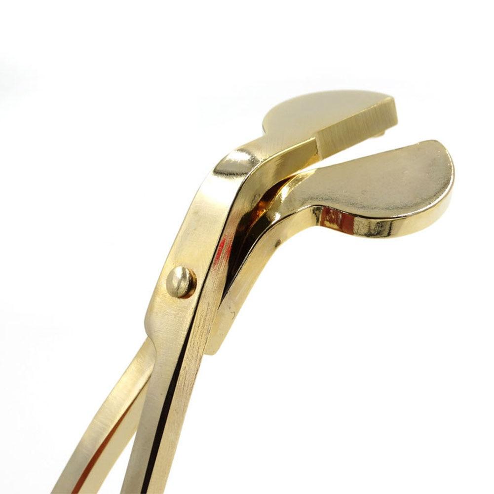 Stainless Steel Candle Wick Dipper Oil Lamp Trimmer Extinguish Trim Scissor Cutter Snuffer Tool Hook Clipper
