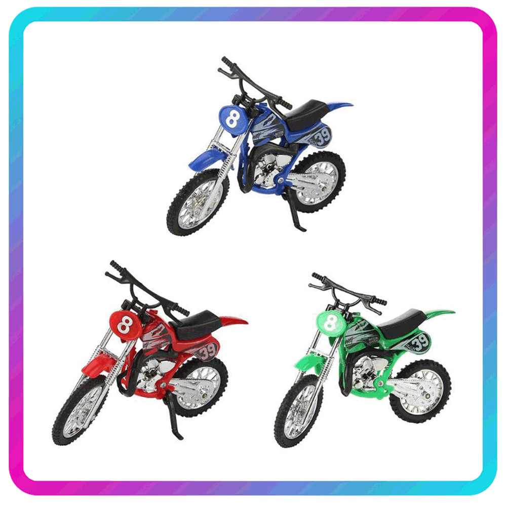 Model Motorcycle Toy Alloy Children Glide Simulation Diecast Kids Vehicles Collection Ornaments Kids Toys Motorbike Motor Cycle