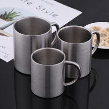 1pcs New 220ml 300ml 400ml Stainless Steel Portable Mug Cup Double Wall Travel Tumbler Coffee Mug Tea Cup