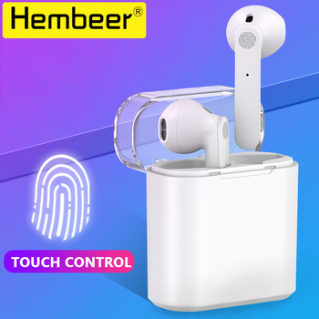 Wireless Bluetooth Headphones Touch Bluetooth Earphones HIFI Sound Headset with Microphone for IOS Android Phone