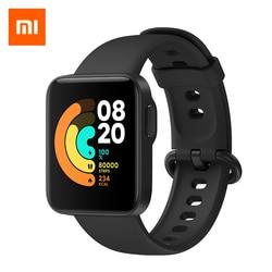 Xiaomi Mi часы Lite Bluetooth Смарт-часы GPS 5ATM, водонепроницаемые Смарт-часы фитнес-монитор сердечного ритма mi band глобальная версия