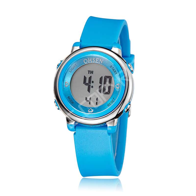 Woman Fashion Casual Rubber Strap Quartz Watch Candy-colored Jelly Watch Ladies Fashion Dress Quartz Wristwatch Female Watch