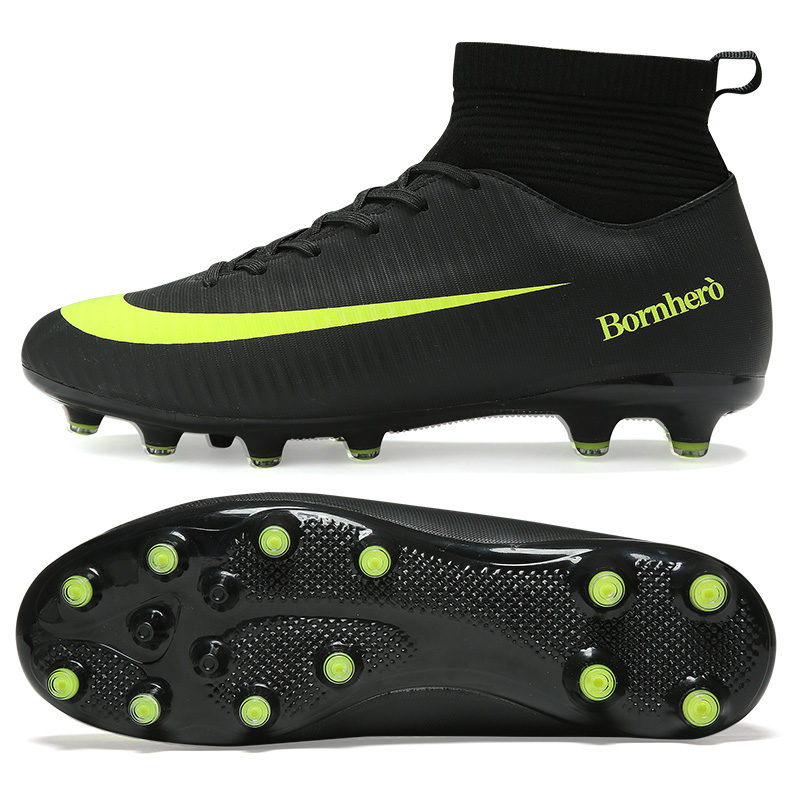 Outdoor Football Boots Men Sneakers Soccer Boots Turf Football Boots Kids Soccer Cleats AG/FG Spikes Training Sport Futsal Shoes 8