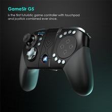 GameSir – manette de jeu sans fil G5, Bluetooth, avec pavé tactile, pour téléphone portable Android, pour FPS, MOBA, RoS, appel de Duty