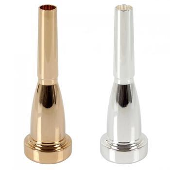 Trumpet Mouthpiece 3C Size Bullet Shape Mega Rich Tone Trumpet Mouthpiece Woodwind Instruments
