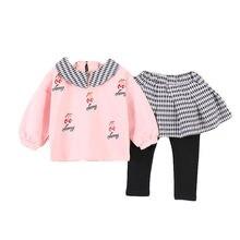 Новая Осенняя детская модная одежда; Футболка с принтом для