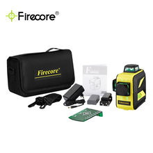 F93T-XR/XG 12 Lines 3D Green/Red Laser Level Self-Leveling 360 Horizontal And Vertical