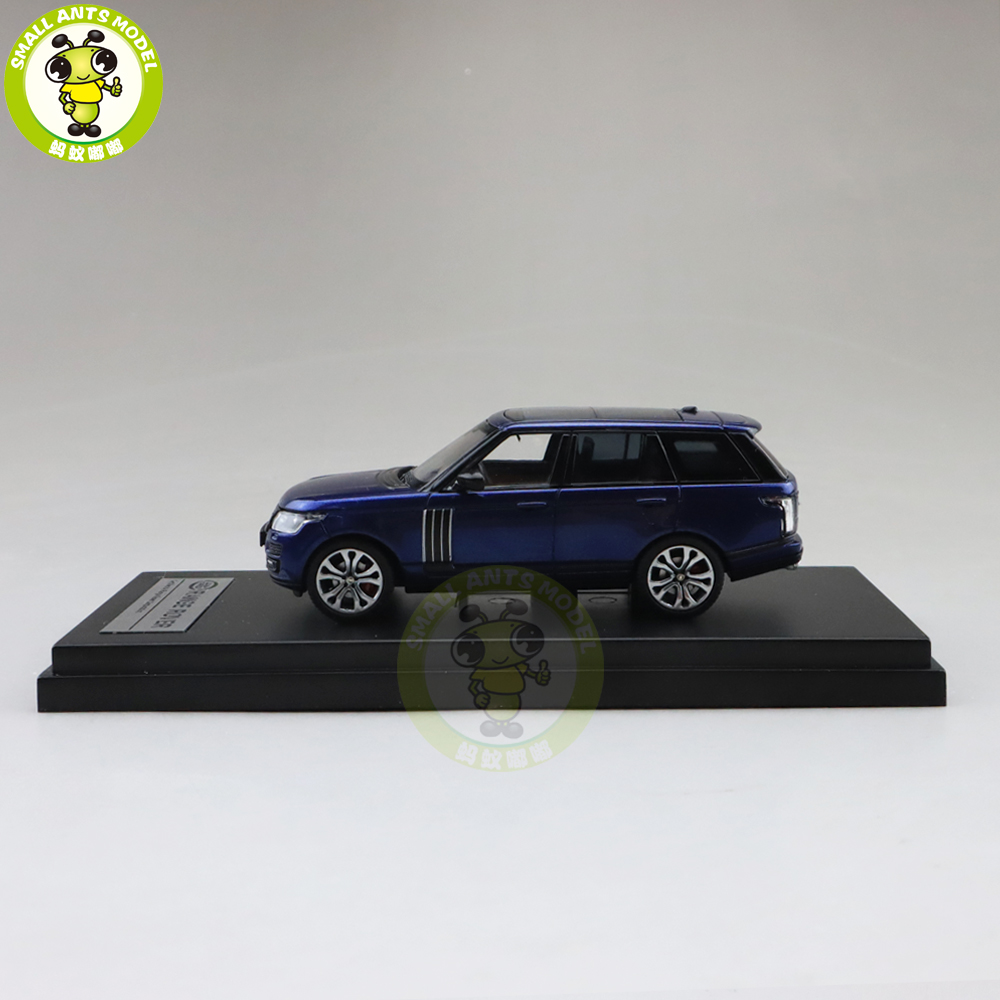 1/64 LCD RANGE SUV Diecast Car Model Toys Boys Girls Gifts Blue Black Silver