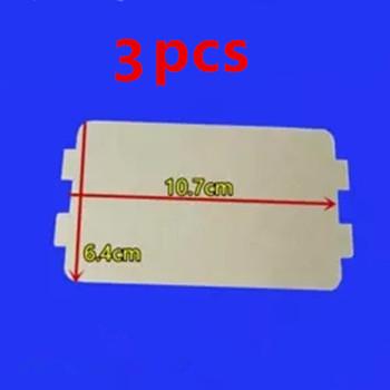 3 sztuk do kuchenek mikrofalowych części miki kuchenka mikrofalowa 10 7*6 4cm arkusze miki dla Midea magnetron cap kuchenka mikrofalowa #8230 płyty tanie i dobre opinie Mica for microwave oven Microwave Oven Parts