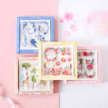 20pcs/pack Literary Girls Handbook Decoration Sticker pack Kawaii Scrapbooking Sticker DIY Diary Letter Album Stick Label
