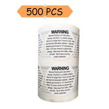 500 шт 15 дюймовые круглые универсальные предупреждающие наклейки
