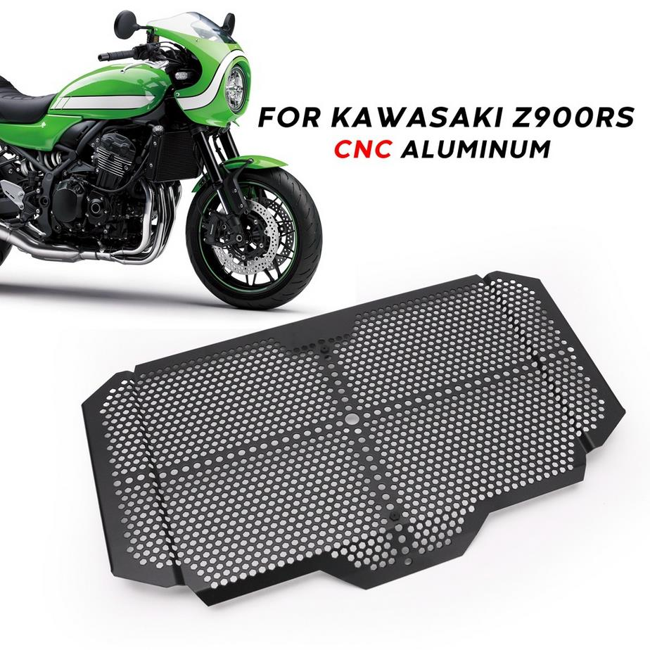 For <font><b>Kawasaki</b></font> <font><b>Z900RS</b></font> <font><b>Z900</b></font> <font><b>RS</b></font> Motorcycle Radiator Grille Guard Protector Grill Protective Cover Cooler System Protection Accessory image
