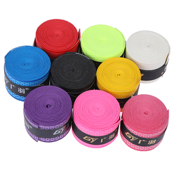 Anti-skid Sweat Absorbed Wraps Taps Badminton Grips Dry Tennis Racket Grip Racquet Vibration Overgrip Sweatband Hot Sports