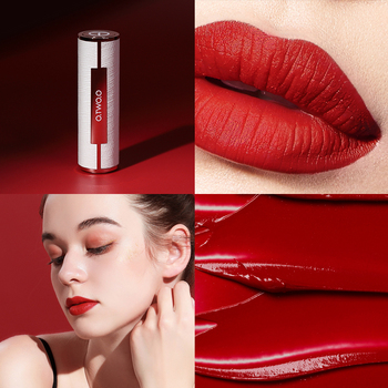 O.TWO.O Matte Lipstick Nude Brown Red Lips Makeup Velvet Silky Smooth Texture Long Lasting Waterproof Lip Stick 12 Colors 3