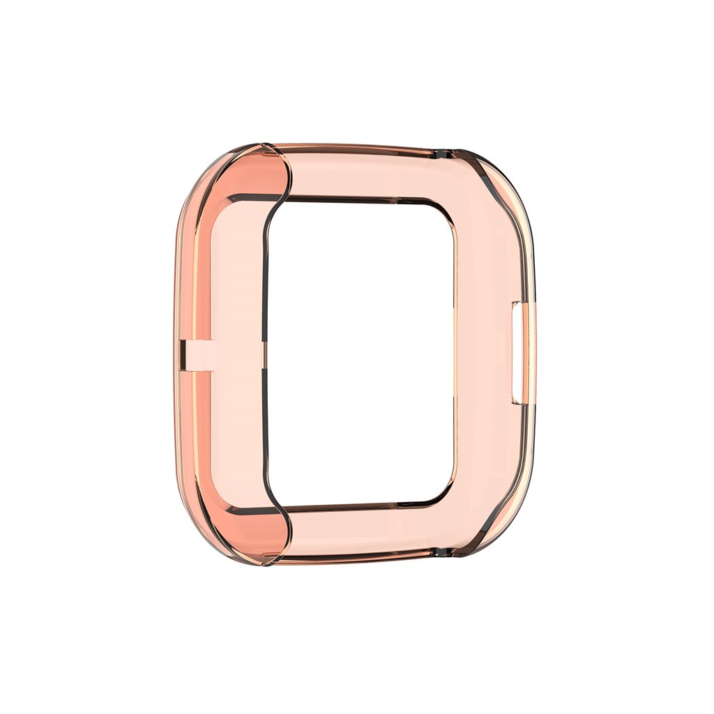 mosunx Soft Ultra-Slim Crystal Clear TPU Protector Case Cover for Fitbit versa 2 Prevent Scratches, grease and finger prints etc