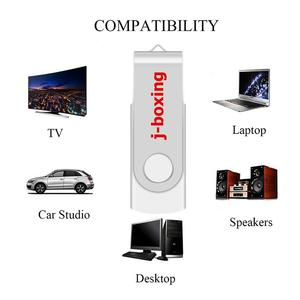 Image 5 - J boxing White 16GB USB 3.0 Flash Drive Pen Drive 32GB 64GB Metal Rotating Flash Memory Stick usb3.0 Stick for PC Macbook Tablet