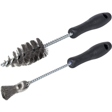 2pcs Cleaning Brush Kit Tool Comfortable Handle Practical  Sleeve Cup Stainless Steel, Durable for Ford Powerstroke