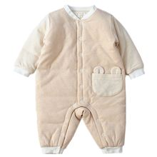 Детские хлопковые комбинезоны; Одежда с длинными рукавами для
