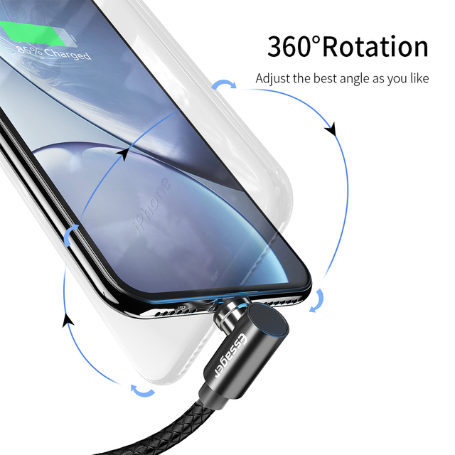Essager Magnetic Cable Micro USB Type C Charging Cable For Samsung iPhone 7 6 Charger Fast Magnet cable USB C Cord Wires Adapter 2