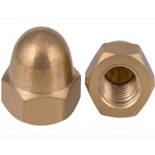 M3-M20 2-50pcs Acorn Nuts Copper Cap Nut Hex Domed Six Hexagon Round Screw Sleeve