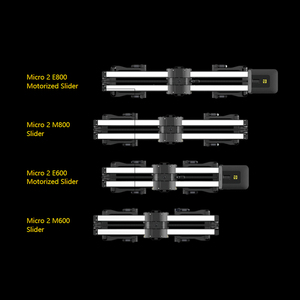 Image 3 - Zeapon Micro 2 E600 E800 M600 M800 Cursore Fotocamera Professionale Motorizzare Pista Dolly Sistema Ferroviario Per Le Fotocamere REFLEX Digitali Sony BMCC canon