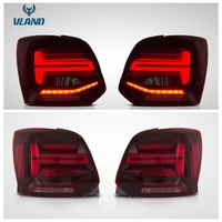 VLAND factory for car taillight for Polo tail lamp 2011 2012 for Vento LED tail light turn signal with sequential indicator