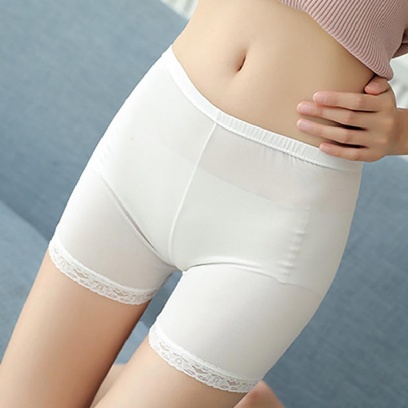 Female Summer Safety Short Pants Shorts Women Lady Lace Thigh Breathable Shorts