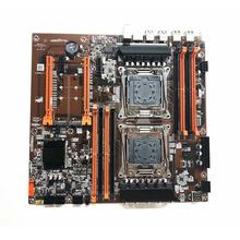 X99 Dual CPU Motherboard LGA 2011 V3 E-ATX USB3.0 SATA3 With Dual Xeon Processor With Dual M.2 Slot 8 DIMM DDR4 2011-3
