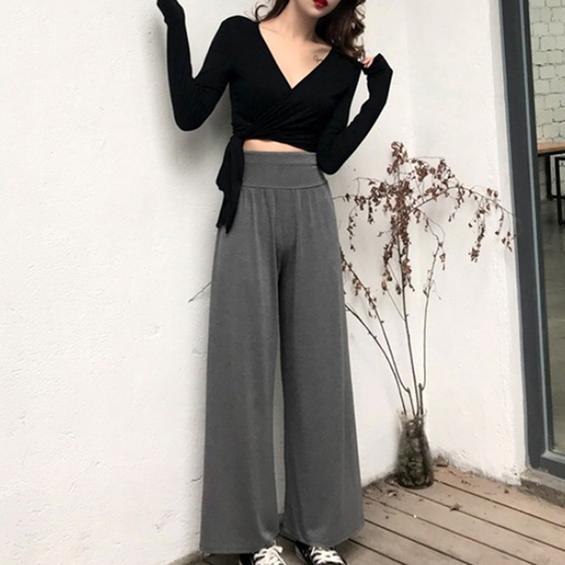 Autumn Women T Shirt Skinny Sexy V Neck Solid Color Long Sleeves Bandage Crop Tops Fashion Female T Shirt