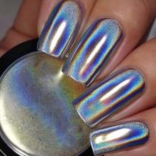 MAXIMA зеркальные хромированные ногти, порошок, супер зеркальный блеск, титановый порошок, блестящие ногти, порошок, металлический маникюр, украшение