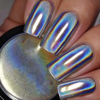 MAXIMA Mirror Chrome Nails proszek super połysk lustro tytanowy proszek Nail Glitter Nails Powder Metallic Manicure Decoration tanie i dobre opinie Paznokci brokat