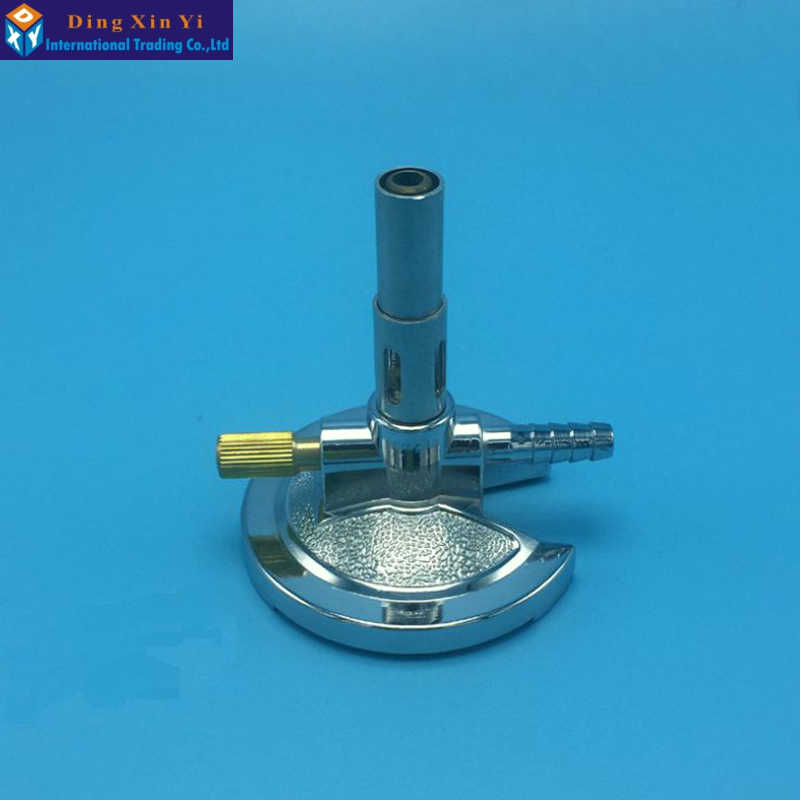 Micro Burner Laboratory Bunsen Burner Made Of Alloy And Brass -Single