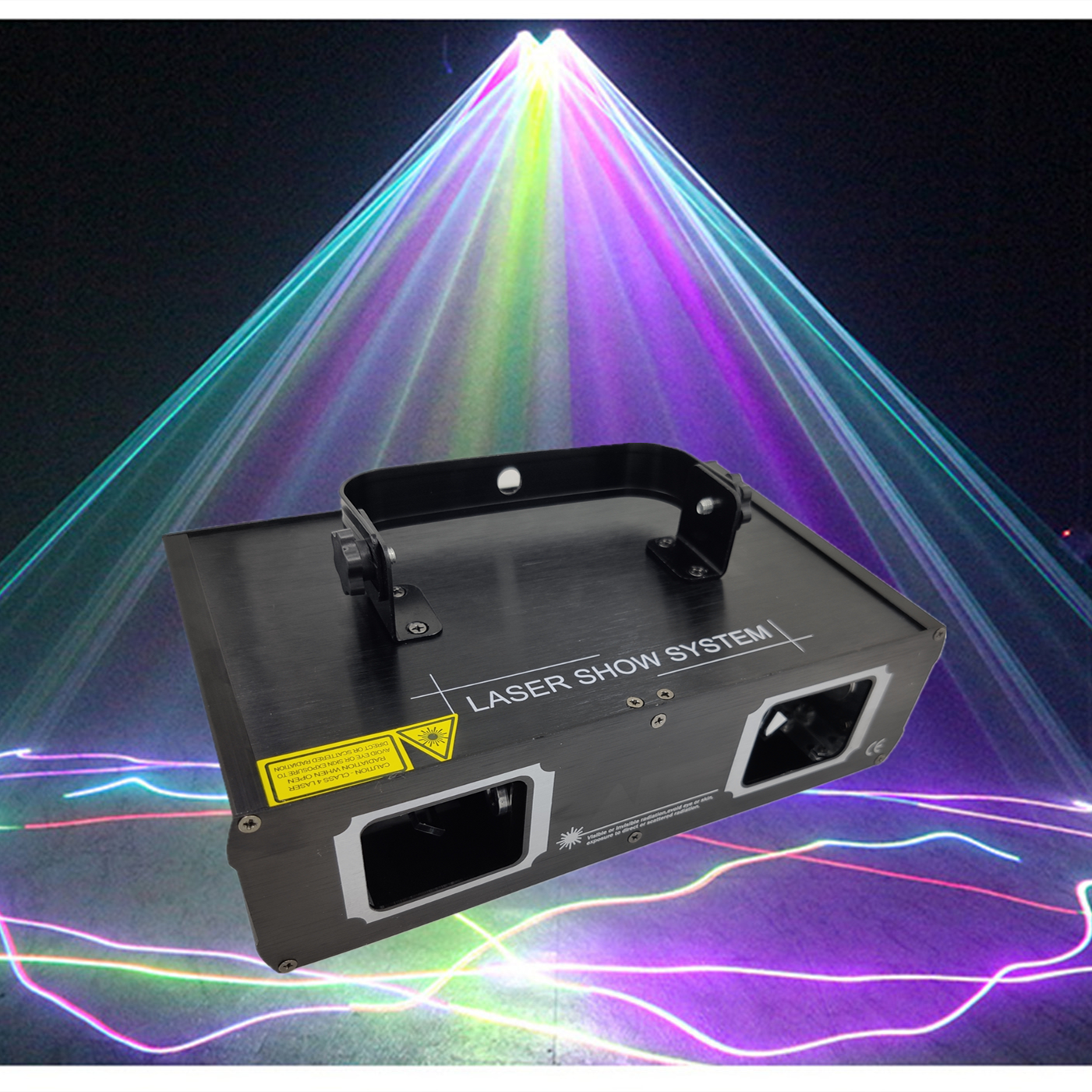 Factory Outlet Laser Lamp 2 Hoofd Laser Dual Gat Stage Effect DMX512 Verlichting Voor Dj Disco Party Ktv Nachtclub En Dance Floo