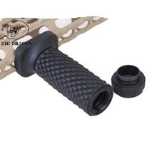 Emersongear longo aperto vertical fore handgrip brinquedo bd keymod sistema padrão de golfball tático airsoft caça brinquedo acessory