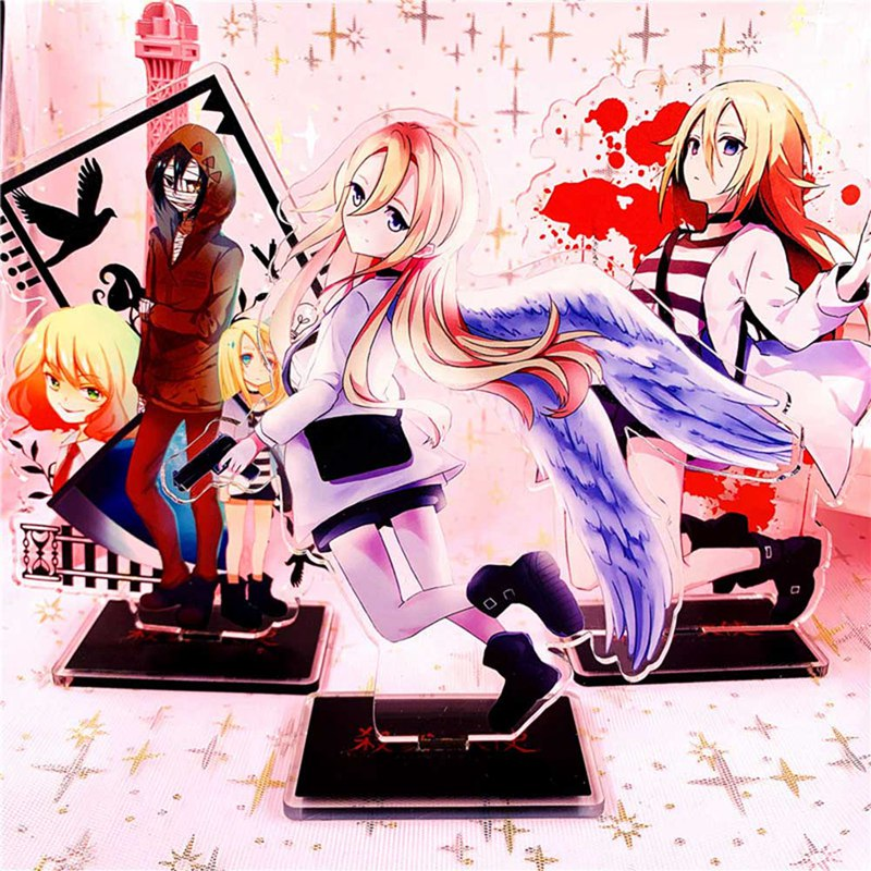 Anime Angels Of Death Rachel Gardner Isaac Foster Zack Cosplay Acrylic Stand Figure Model Plate Charm Desk Decoration Xmas Gift
