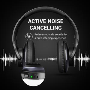 Image 4 - OneOdio Original A10 Advanced Active Noise Cancelling Bluetooth Headphones with Super Deep Bass Fast Charge 40H Playtime
