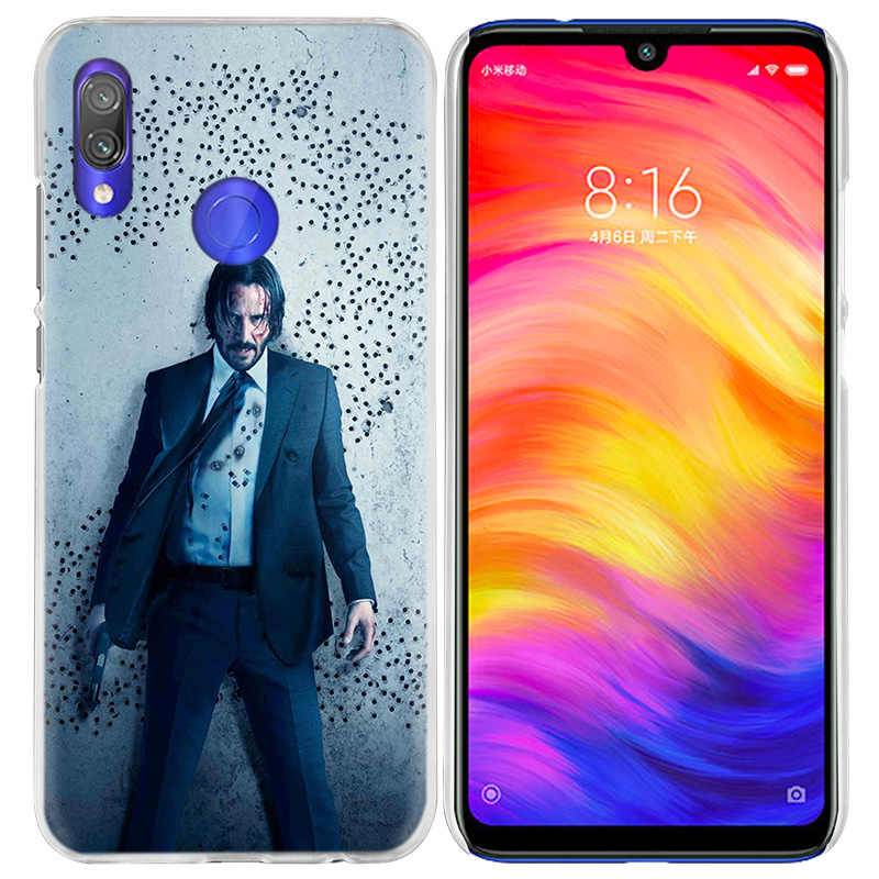 John Wick Case for Xiaomi Mi 9T CC9 CC9E A3 8Lite Redmi Note 8 7 K20 Note8 Pro Hard Carcasa Fundas Capa Luxury Phone Coque Cover