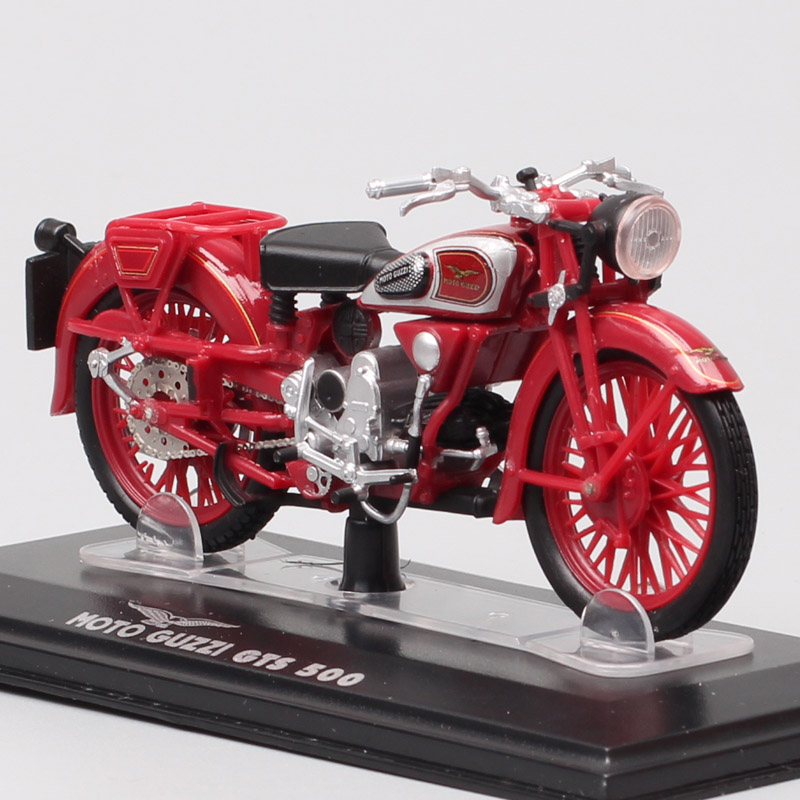 1:22 Scales Tiny Old Starline Moto Guzzi GTS 500 GT500B Motorcycle Diecasts & Toy Vehicles Model Miniatures Of Hobby Collector