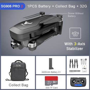 ZLRC Beast SG906 Pro 2 Brushless Motor with 3-Axis Gimbal GPS 5G WIFI FPV Professional 4K Camera RC Drone Quadcopter Dron PRO2 19