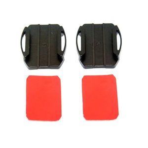Image 4 - 1Set Adjustable Curved Adhesive Helmet Side Mount for Sony VCT HSM1 HDR AS50R AS30V AS200V AS100V AS10 AS300 AZ1VR FDR X1000V