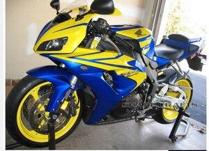 Image 4 - Motorrad No Cut Sturzpads Fallen Schutz Motor Crash schutz Block Für Honda CBR1000RR CBR1000 RR 1000RR 2006 2007