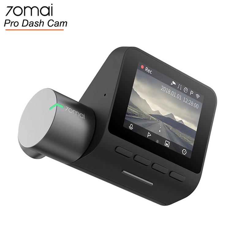 New 70mai Pro 70mai Dash Cam Pro 1944P GPS 70mai Car Cam Pro English Voice Control ADAS Dash Car Camera140FOV Night Vision Wifi